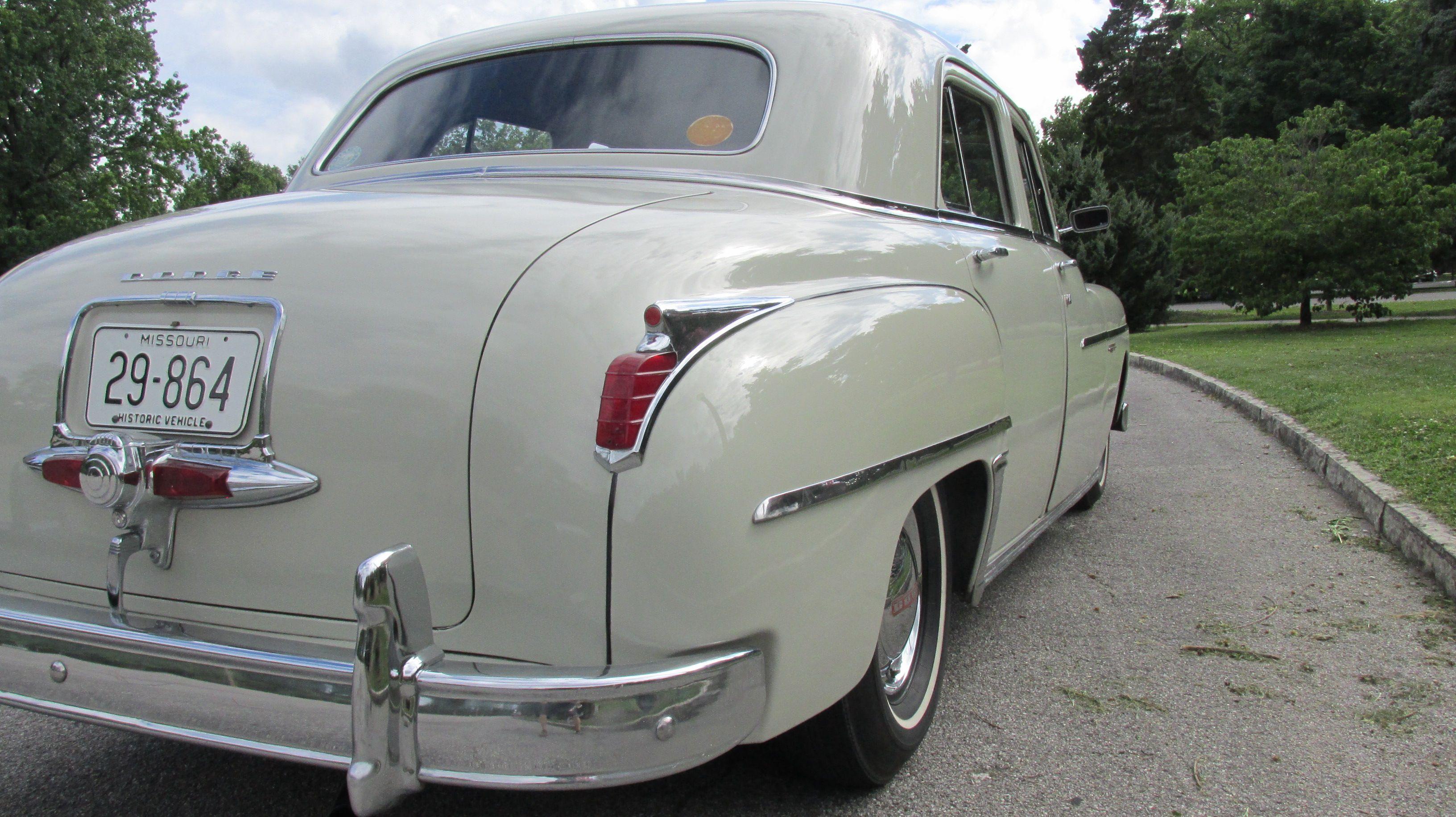 Back of 1949 Coronet