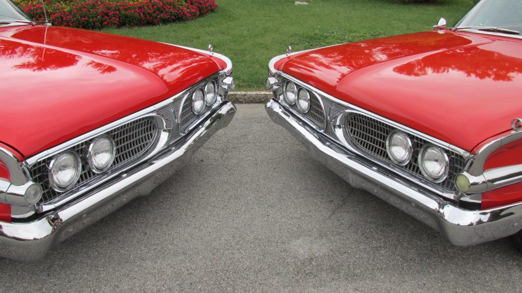 Bumper and lights on 1960 Ford Edsels