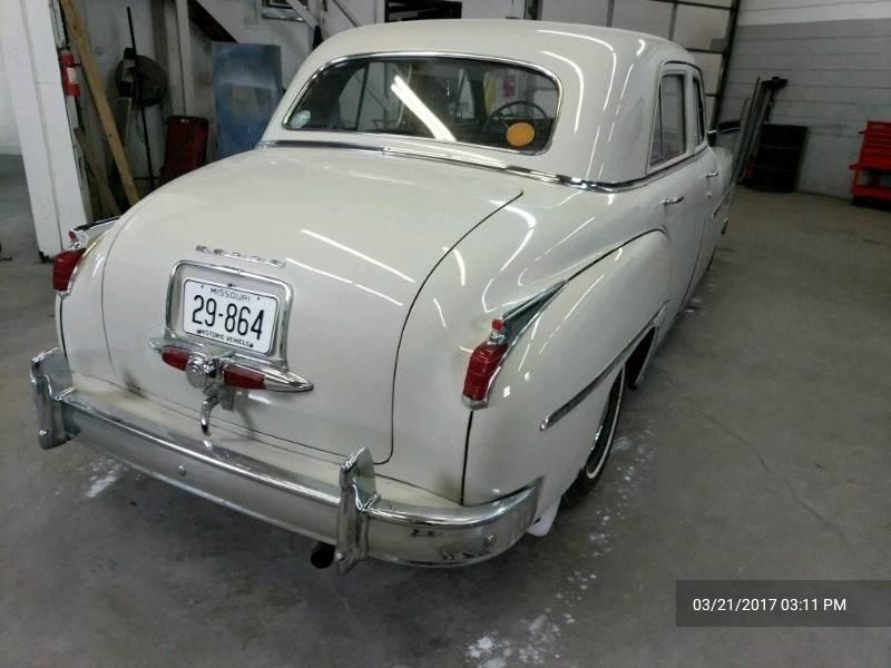 Right rear of 1949 Coronet