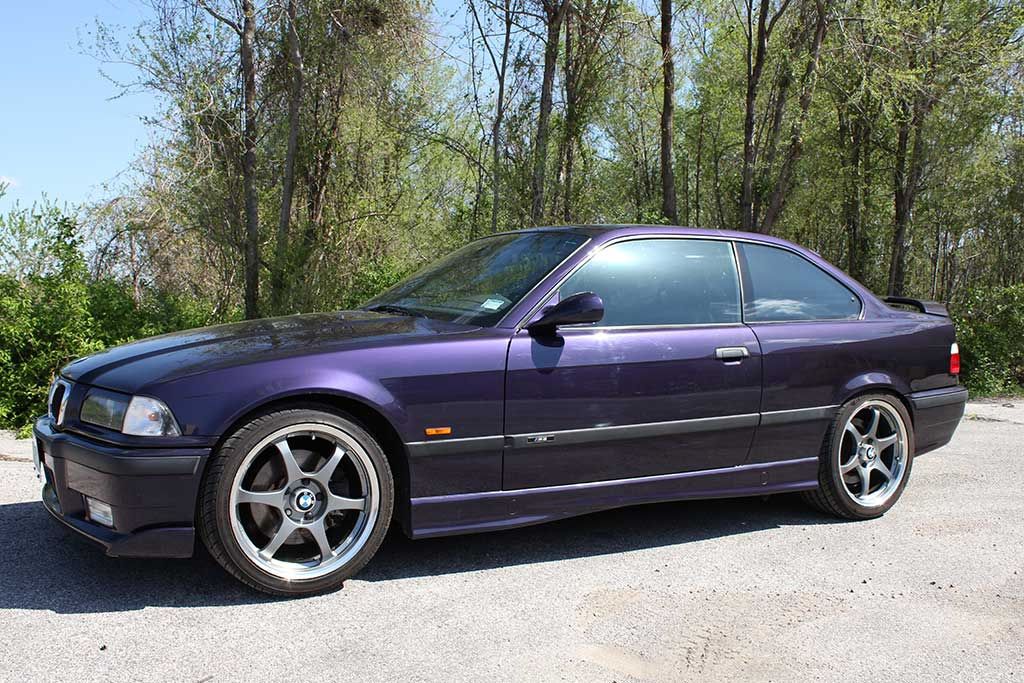 side of 1997 BMW Dinan