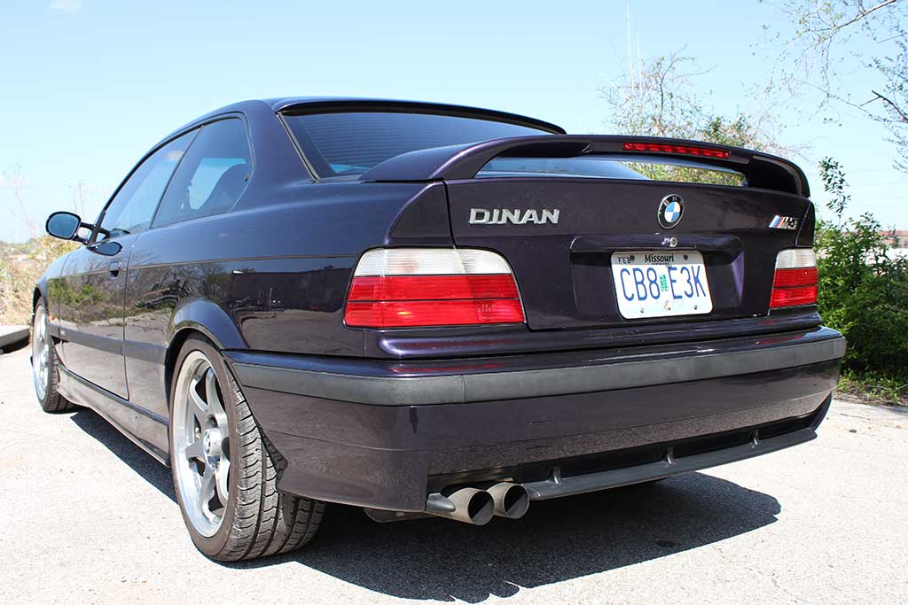 back of 1997 BMW M3 Dinan