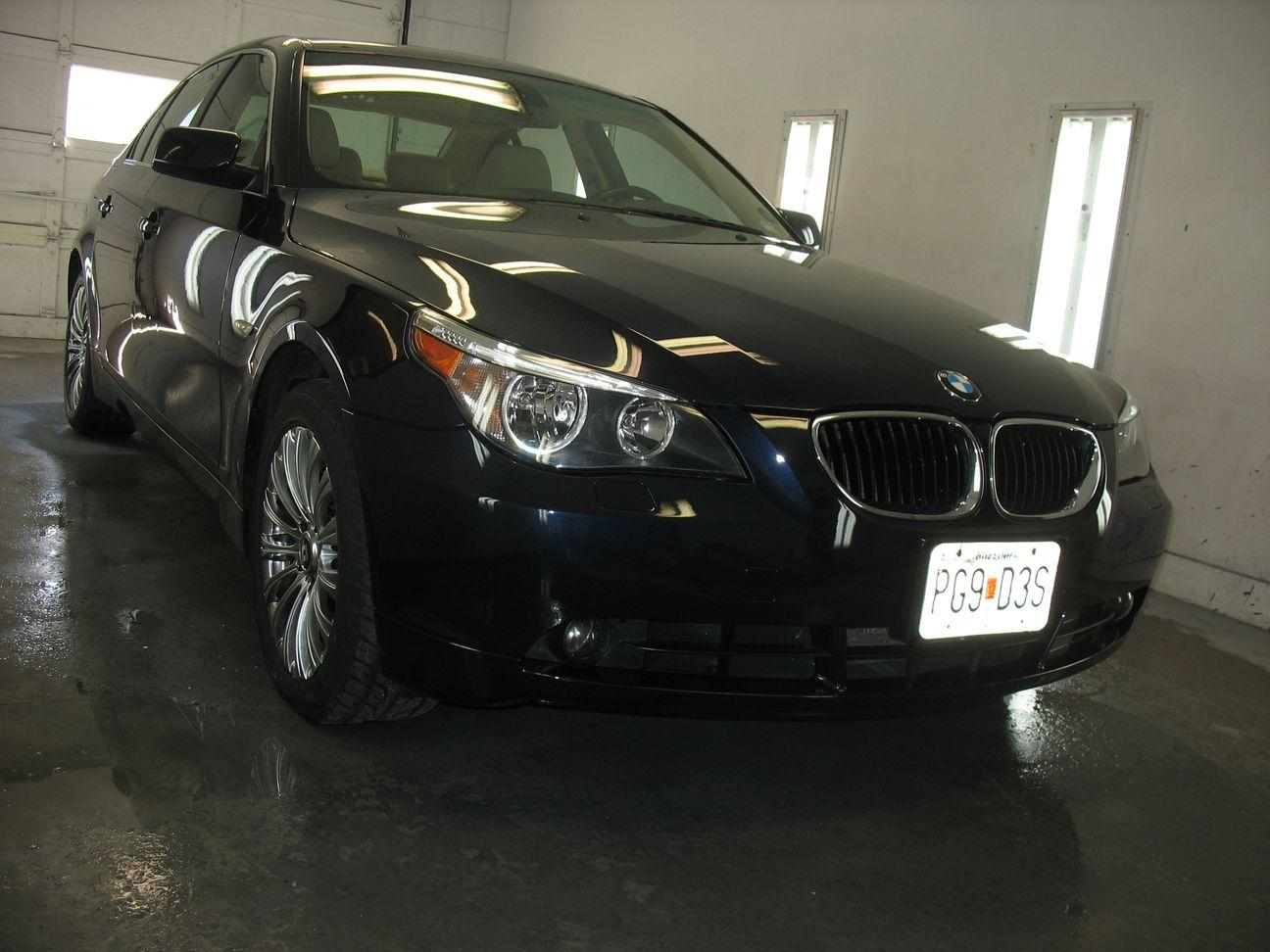 front of 2000 BMW