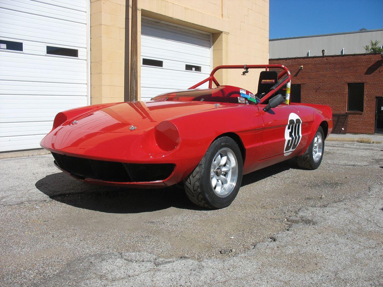 Alfa Romero race car